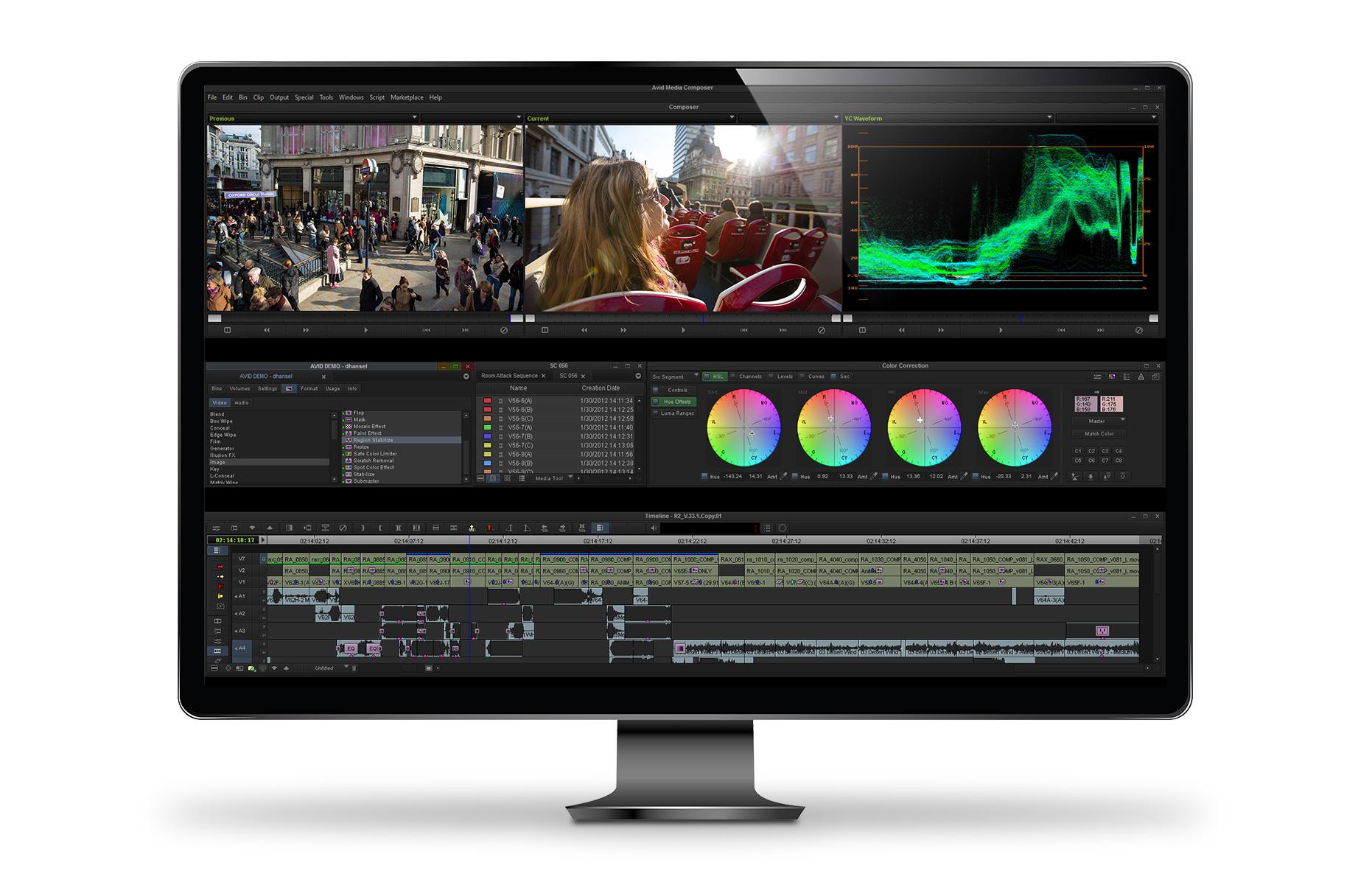 Online Design Tool Media Composer Videobearbeitungssoftware Avid